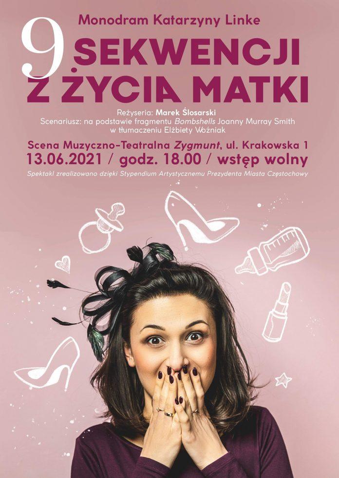 """Zobacz w Częstochowie """"9 sekwencji z życia matki""""! Na scenie Katarzyna Linke 2"""