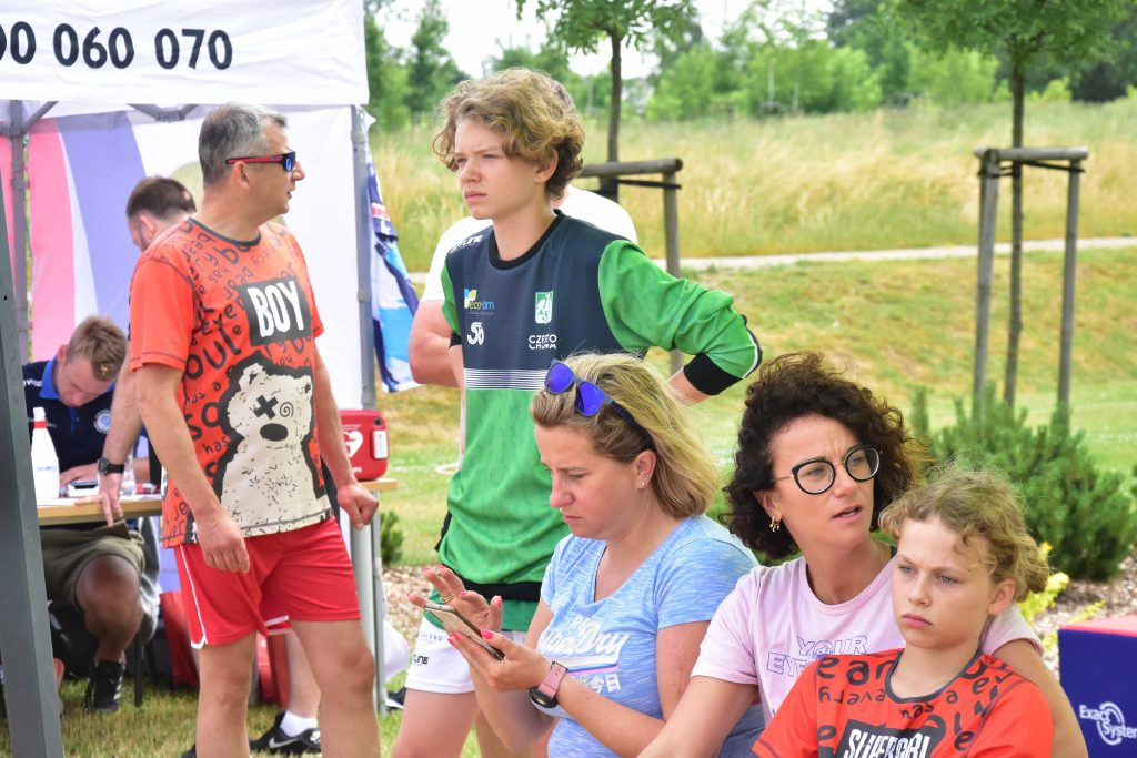 """Siatkarski festyn """"Syn, Tato, Lato"""" zorganizowany przez Akademię Norwidziaka dostarczył wielu rodzinnych emocji... 19"""