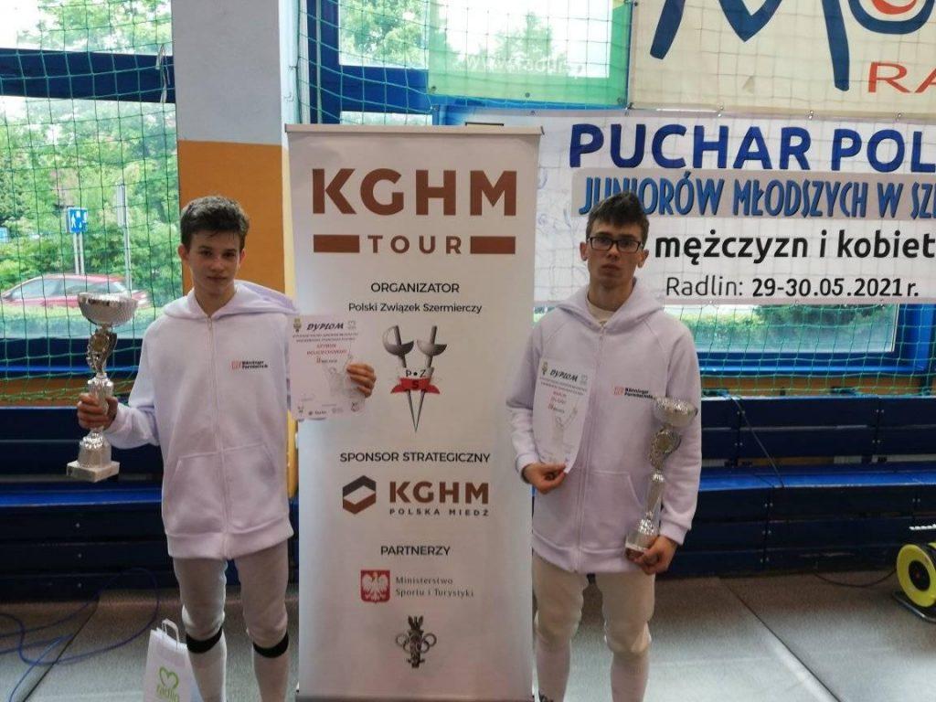 Zawodnicy WLKS Kmicic na podium w III Pucharze Polski KGHM Tour 1