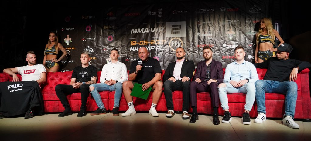 Już 18 czerwca w Częstochowie gala Marcina Najmana MMA VIP-2. A na konferencji prasowej znów było gorąco... 18