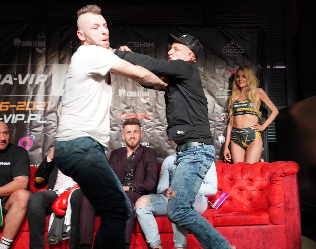 Już 18 czerwca w Częstochowie gala Marcina Najmana MMA VIP-2. A na konferencji prasowej znów było gorąco... 1