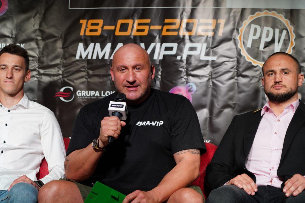 Już 18 czerwca w Częstochowie gala Marcina Najmana MMA VIP-2. A na konferencji prasowej znów było gorąco... 23