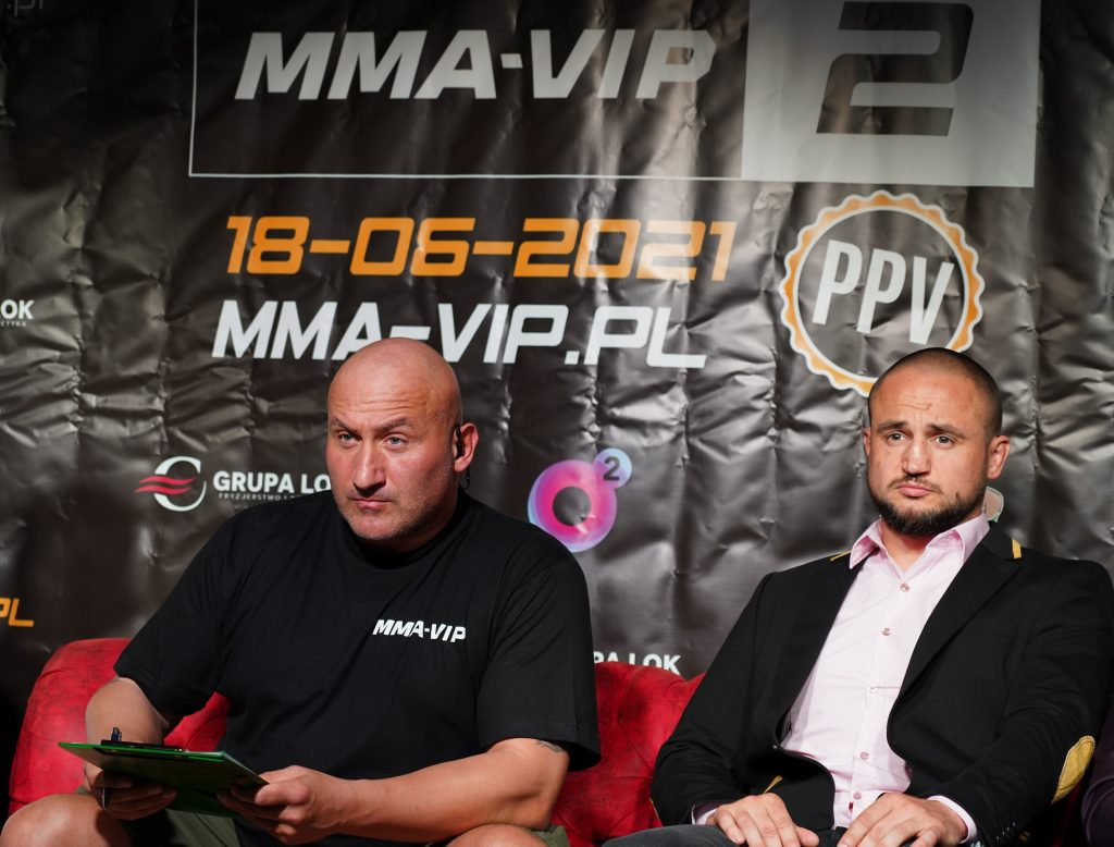 Już 18 czerwca w Częstochowie gala Marcina Najmana MMA VIP-2. A na konferencji prasowej znów było gorąco... 24
