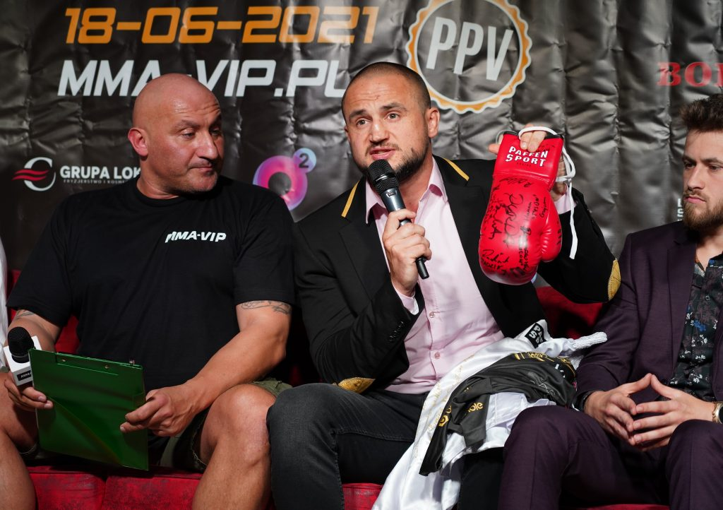 Już 18 czerwca w Częstochowie gala Marcina Najmana MMA VIP-2. A na konferencji prasowej znów było gorąco... 22