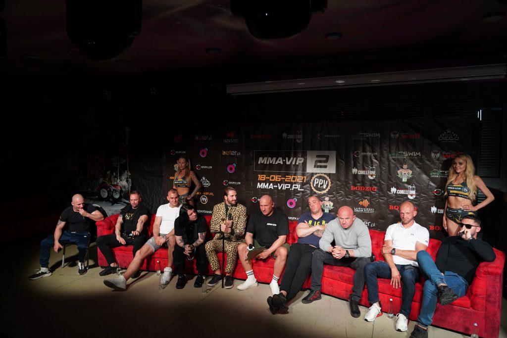 Już 18 czerwca w Częstochowie gala Marcina Najmana MMA VIP-2. A na konferencji prasowej znów było gorąco... 17