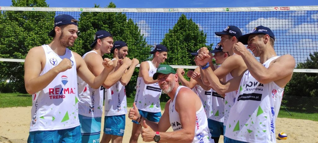 Kolejny turniej siatkówki plażowej przy GJ. Zagrają juniorzy z Nowa Częstochowa i Norwid Częstochowa 3