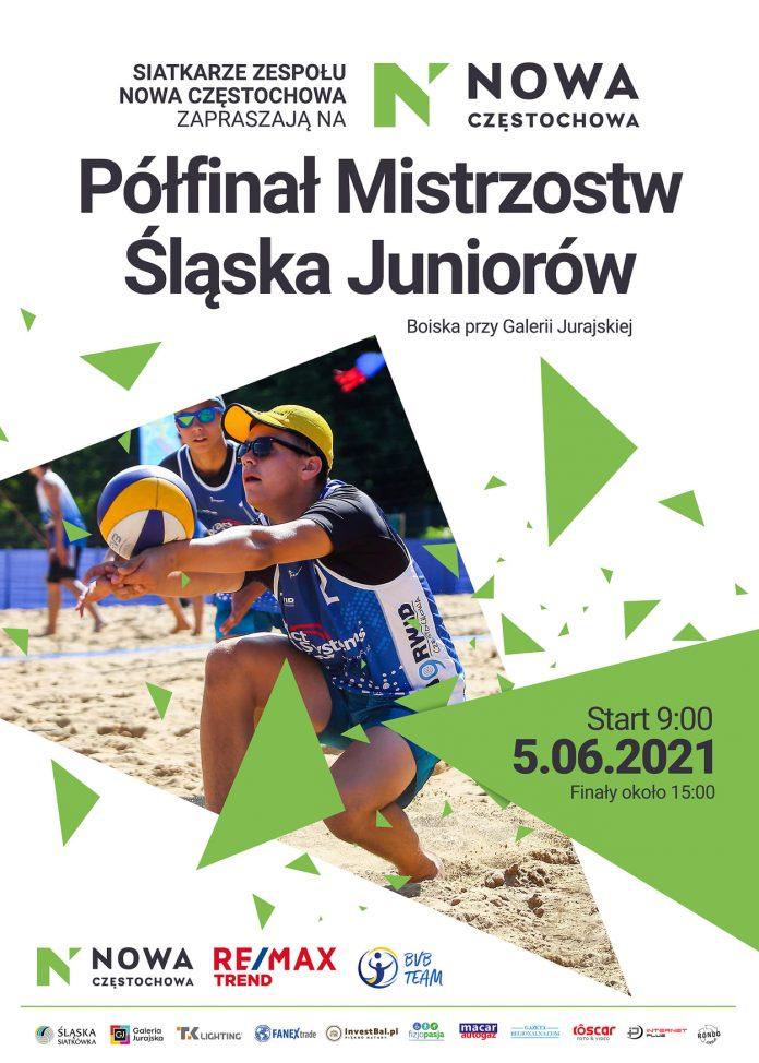 Kolejny turniej siatkówki plażowej przy GJ. Zagrają juniorzy z Nowa Częstochowa i Norwid Częstochowa 9