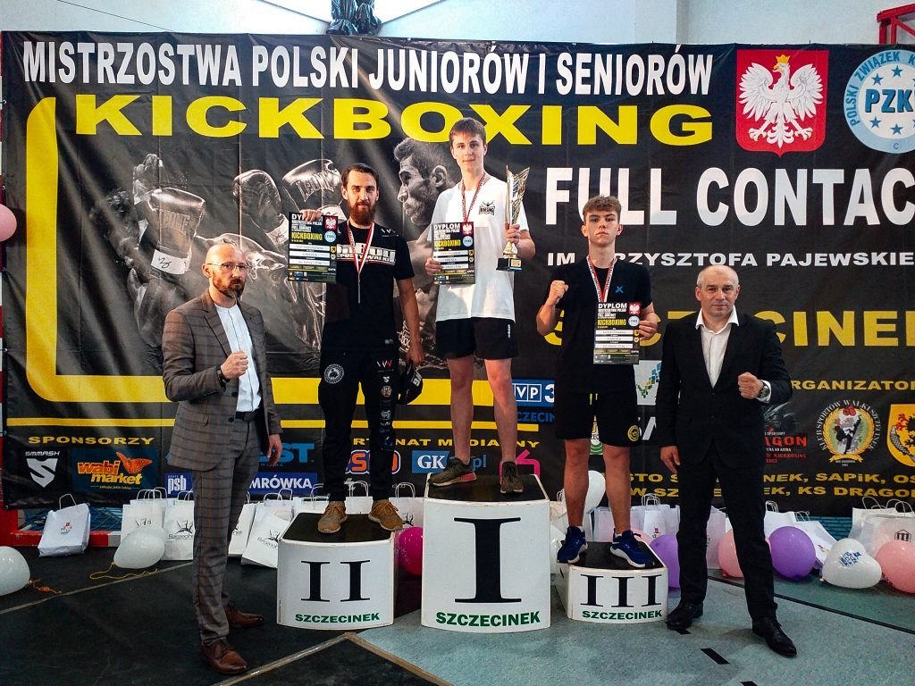Kolejne medale Mistrzostw Polski dla Quick Shot Kickboxing Częstochowa 1