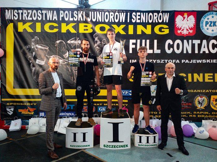 Kolejne medale Mistrzostw Polski dla Quick Shot Kickboxing Częstochowa 4