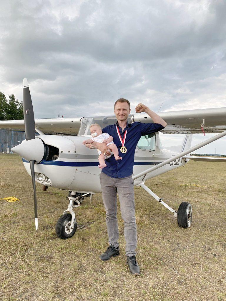 Marcin Skalik z Aeroklubu Częstochowskiego Mistrzem Polski! Są też medale Michała Klimaszewskiego, Patrycji Pacak i Piotra Sieradzana 1