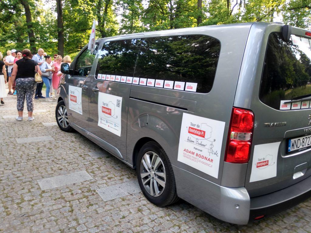 Tour de Konstytucja w Częstochowie. Zobacz, jak wyglądał piknik pod Dębem Konstytucji w Parku 3 Maja. 14