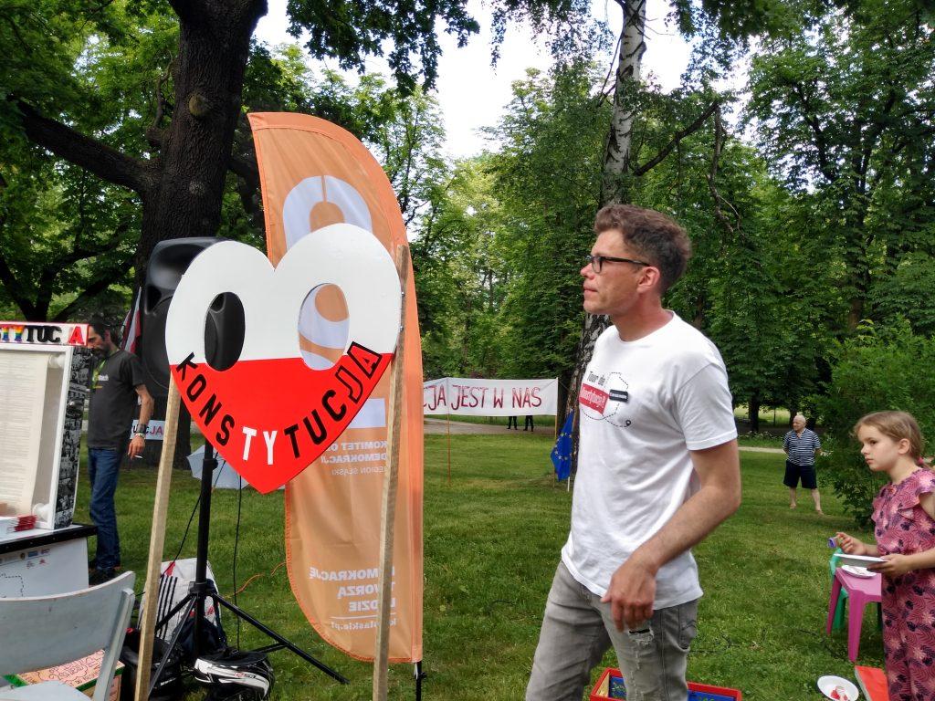 Tour de Konstytucja w Częstochowie. Zobacz, jak wyglądał piknik pod Dębem Konstytucji w Parku 3 Maja. 15