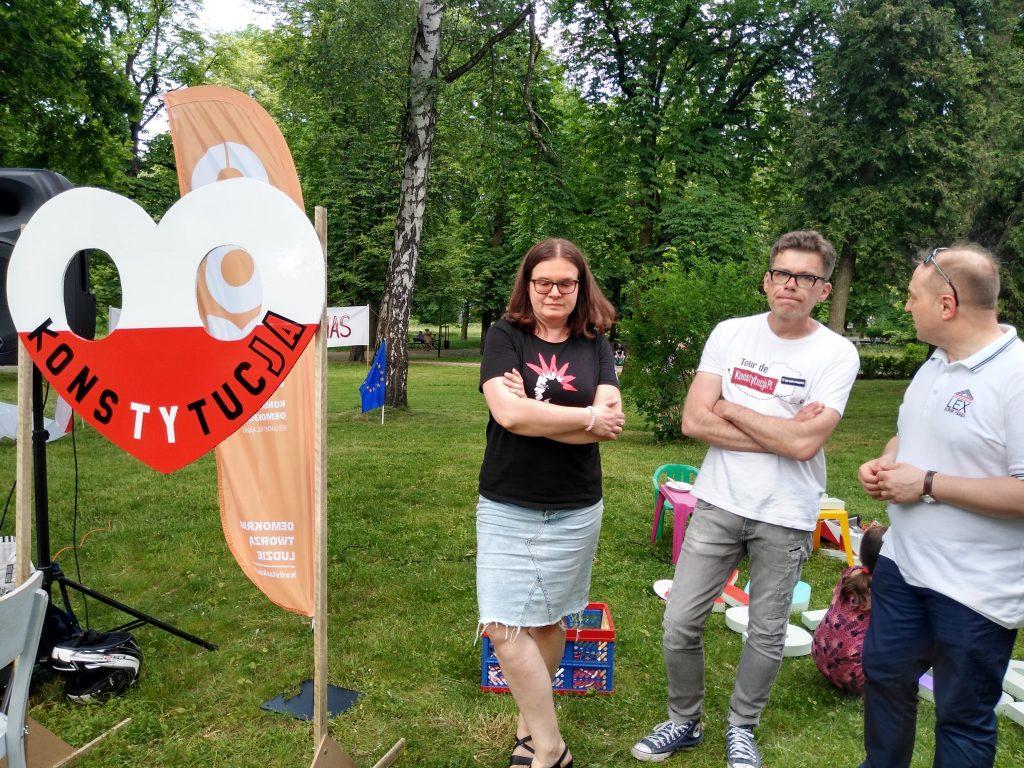 Tour de Konstytucja w Częstochowie. Zobacz, jak wyglądał piknik pod Dębem Konstytucji w Parku 3 Maja. 16