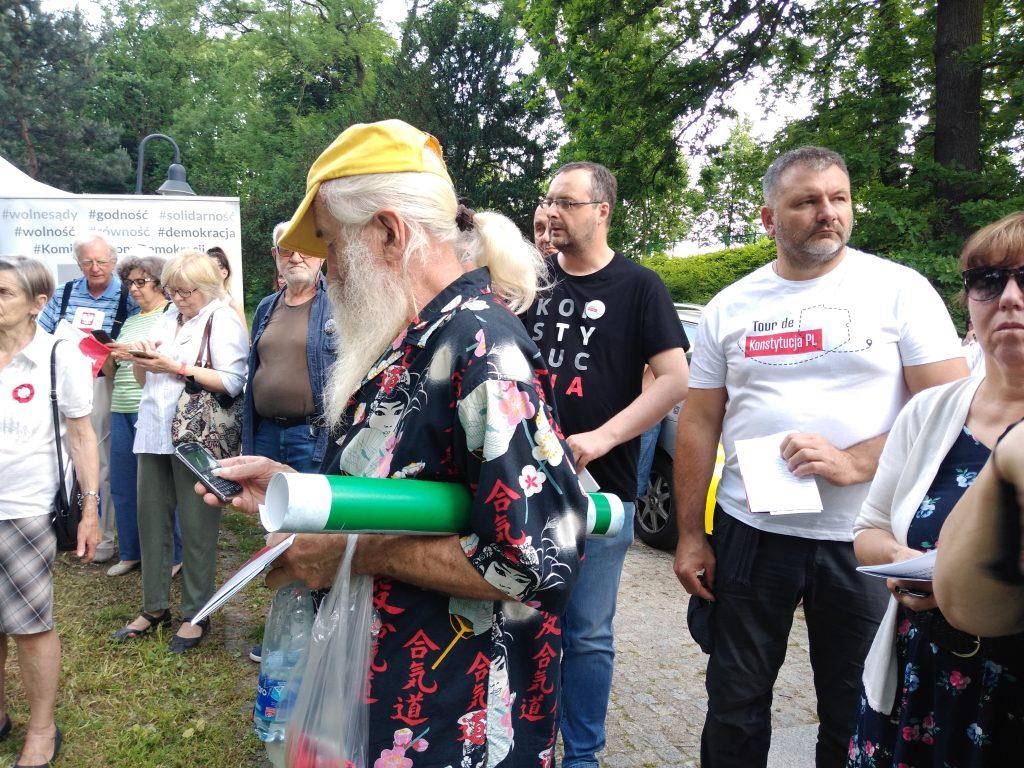 Tour de Konstytucja w Częstochowie. Zobacz, jak wyglądał piknik pod Dębem Konstytucji w Parku 3 Maja. 20