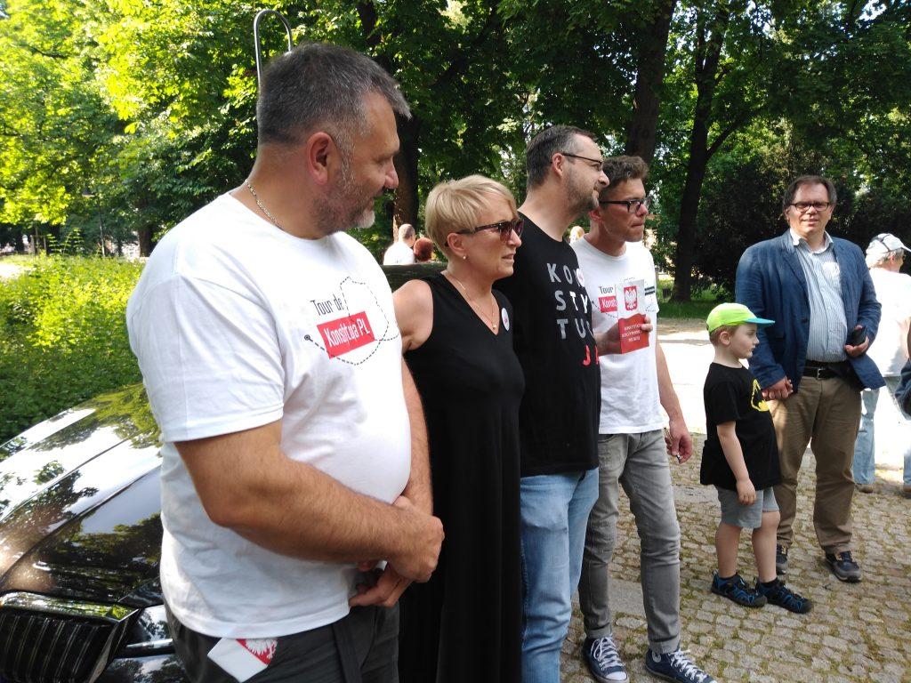 Tour de Konstytucja w Częstochowie. Zobacz, jak wyglądał piknik pod Dębem Konstytucji w Parku 3 Maja. 3