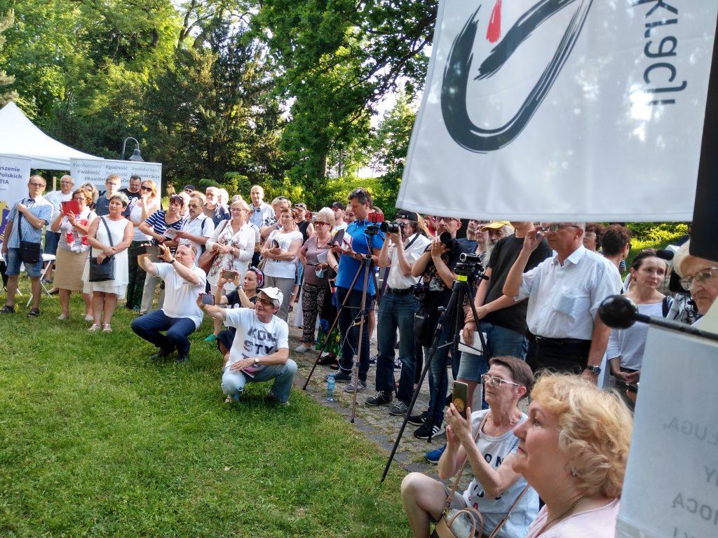 Tour de Konstytucja w Częstochowie. Zobacz, jak wyglądał piknik pod Dębem Konstytucji w Parku 3 Maja. 30