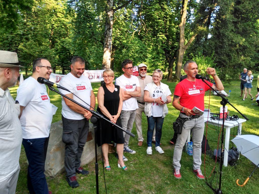 Tour de Konstytucja w Częstochowie. Zobacz, jak wyglądał piknik pod Dębem Konstytucji w Parku 3 Maja. 31