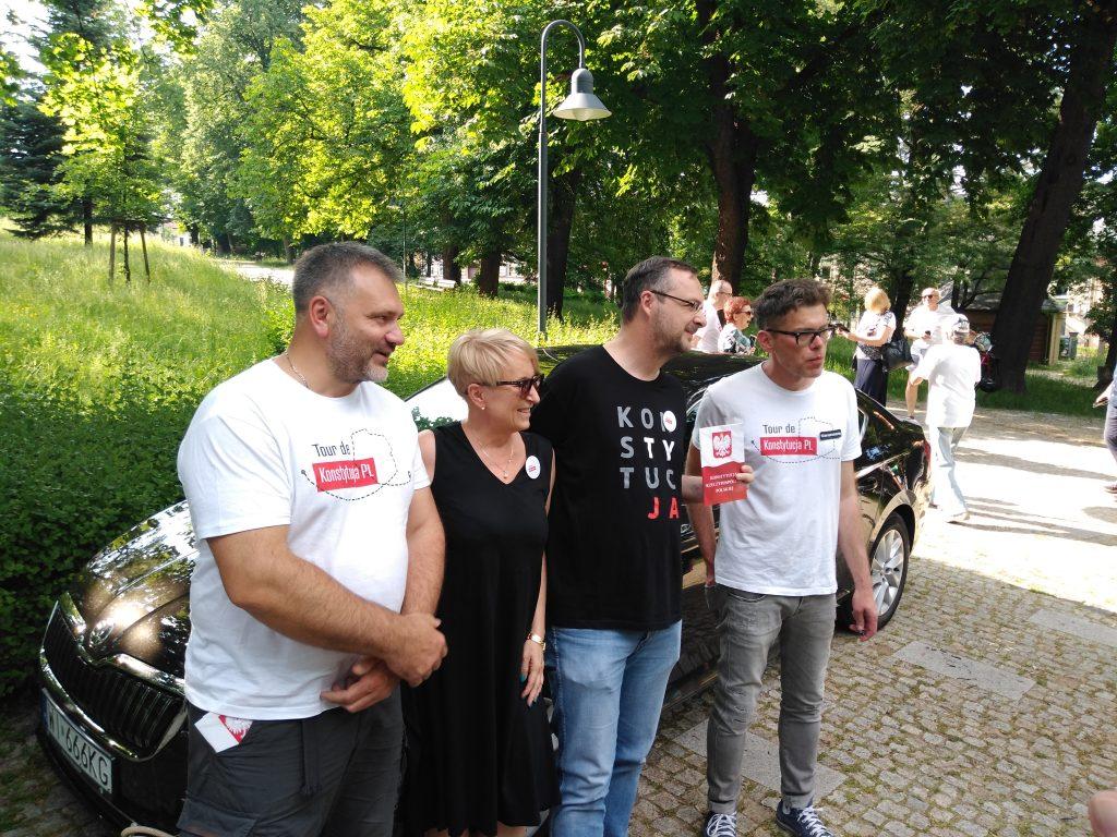 Tour de Konstytucja w Częstochowie. Zobacz, jak wyglądał piknik pod Dębem Konstytucji w Parku 3 Maja. 4