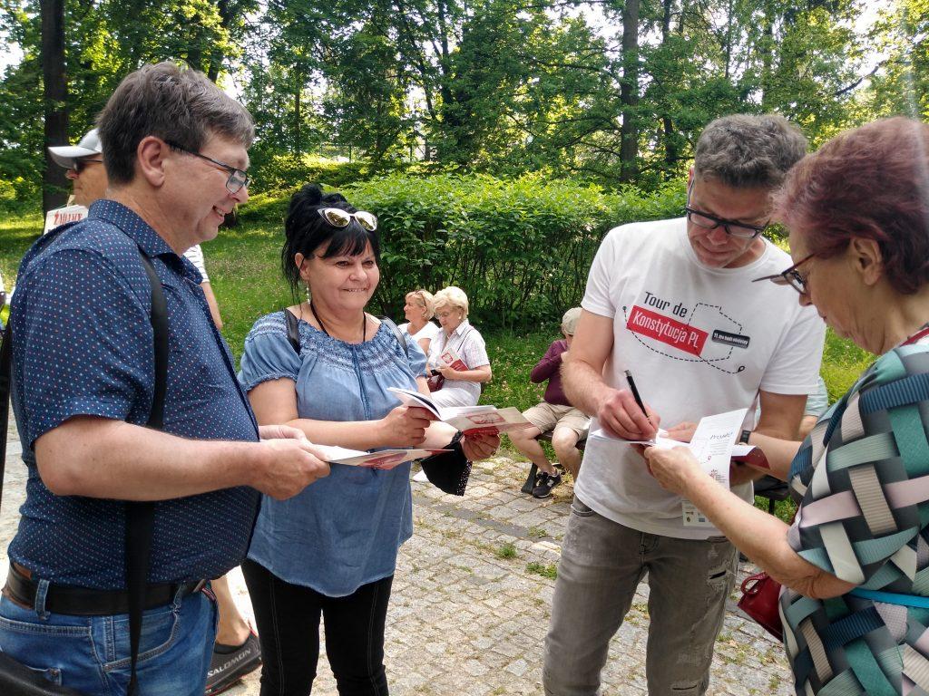 Tour de Konstytucja w Częstochowie. Zobacz, jak wyglądał piknik pod Dębem Konstytucji w Parku 3 Maja. 5