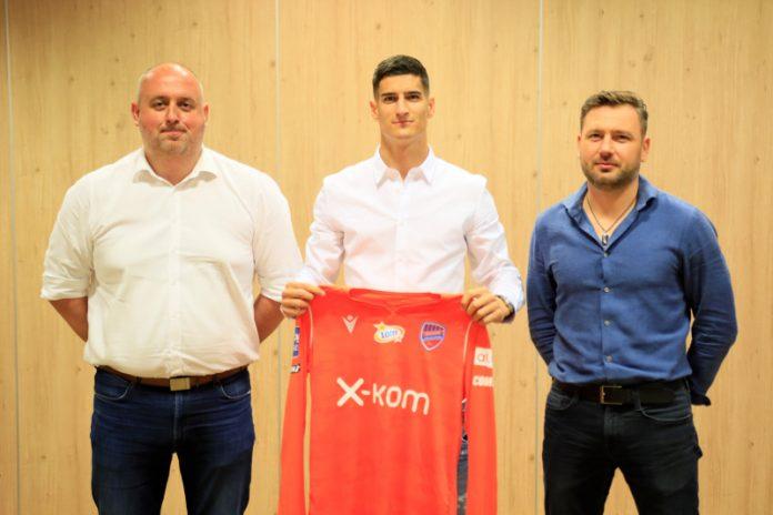 Bramkarz z Bośni i Hercegowiny trafił do Rakowa. Grał w FK Sarajewo 3