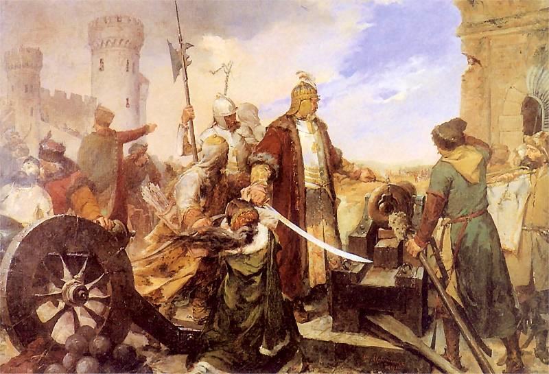 obrona Olsztyna 1587
