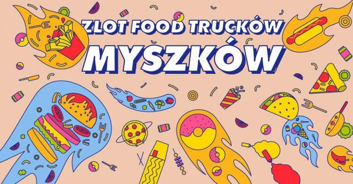 plakat Food Truck Myszków