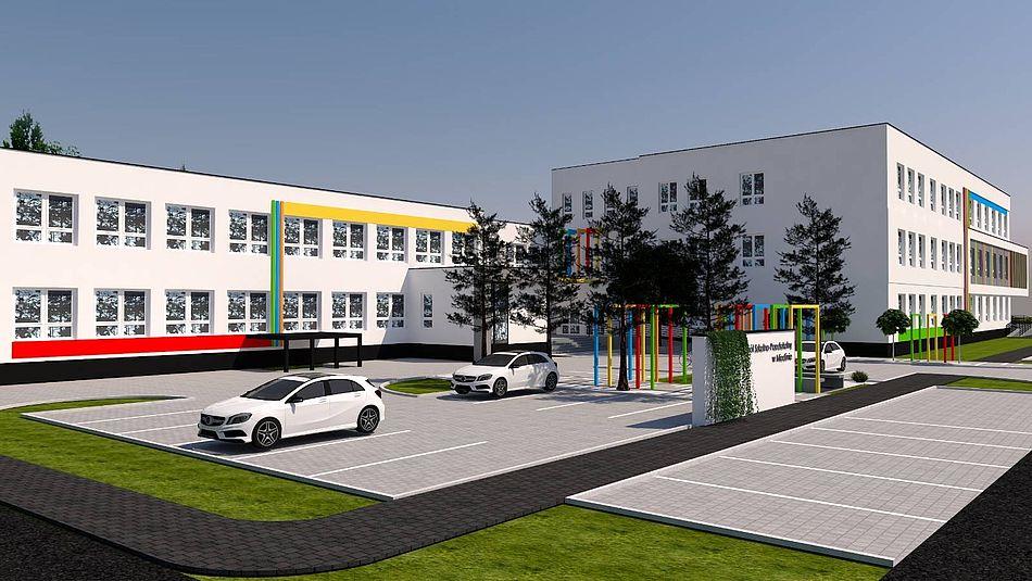 plan rewitalizacji Zespołu Szkolno-Przedszkolnego 2