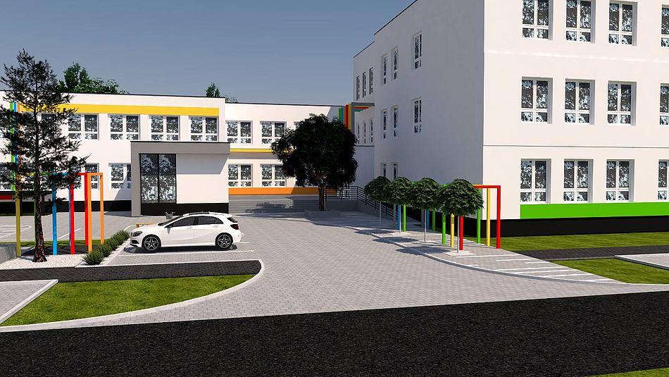 plan rewitalizacji Zespołu Szkolno-Przedszkolnego 5