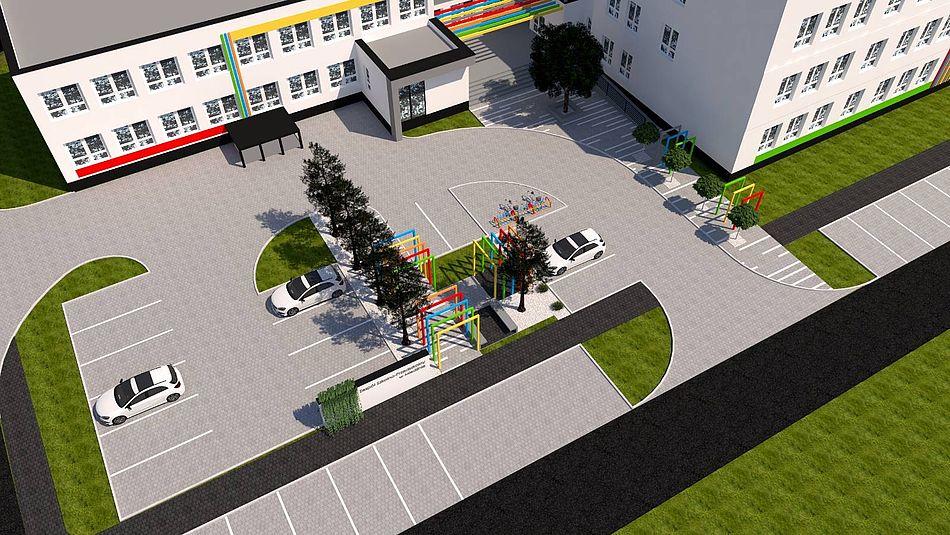 plan rewitalizacji Zespołu Szkolno-Przedszkolnego 6