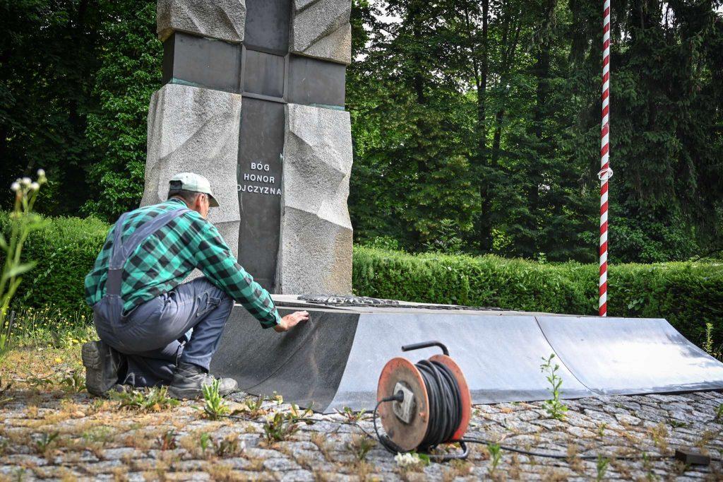 Częstochowskie pomniki i miejsca pamięci narodowej poddane konserwacji 2