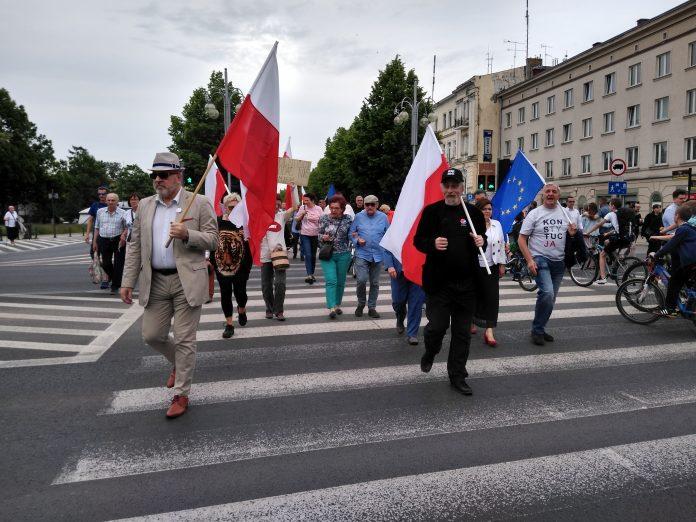Przeszli ulicami Częstochowy, by przypomnieć, jak ważna jest wolność 20