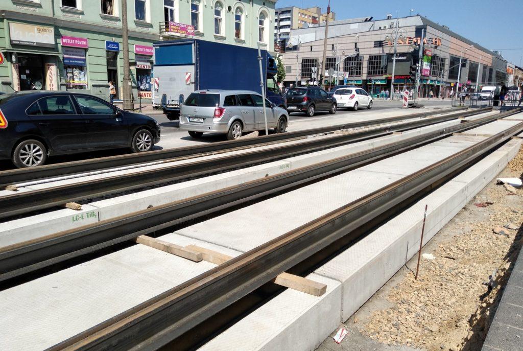 Częstochowskie torowisko tramwajowe pomoże w walce ze smogiem 3