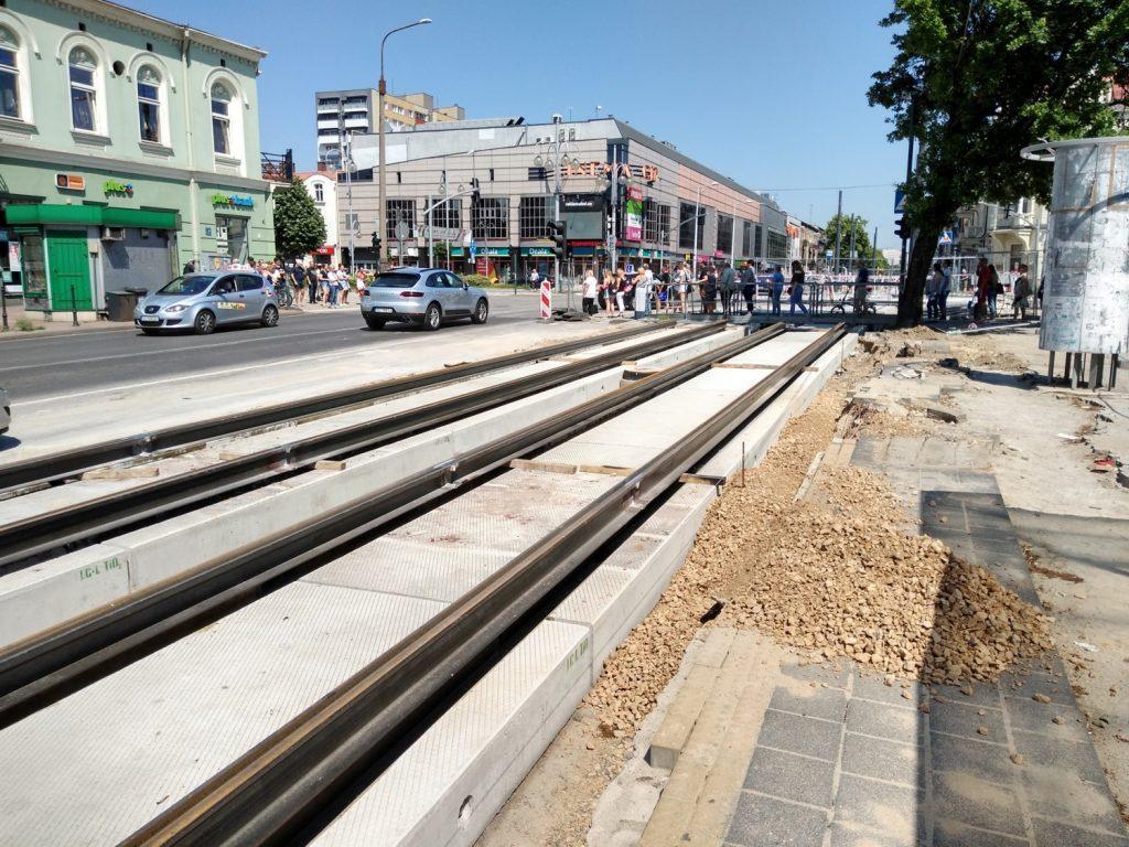 Częstochowskie torowisko tramwajowe pomoże w walce ze smogiem 5