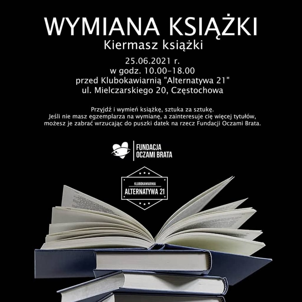 W Częstochowie odbędą się dwa kiermasze książek. Cel obu jest ważny! 1