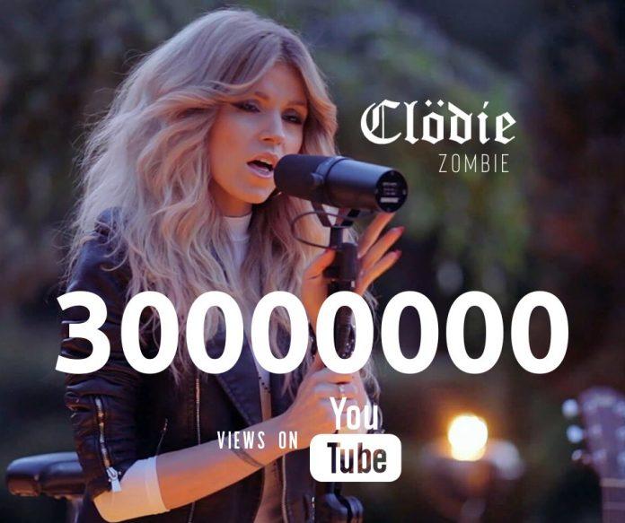 """""""Zombie"""" w wykonaniu częstochowskiej wokalistki Clödie zebrał 30 milionów wyświetleń na YouTubie 2"""