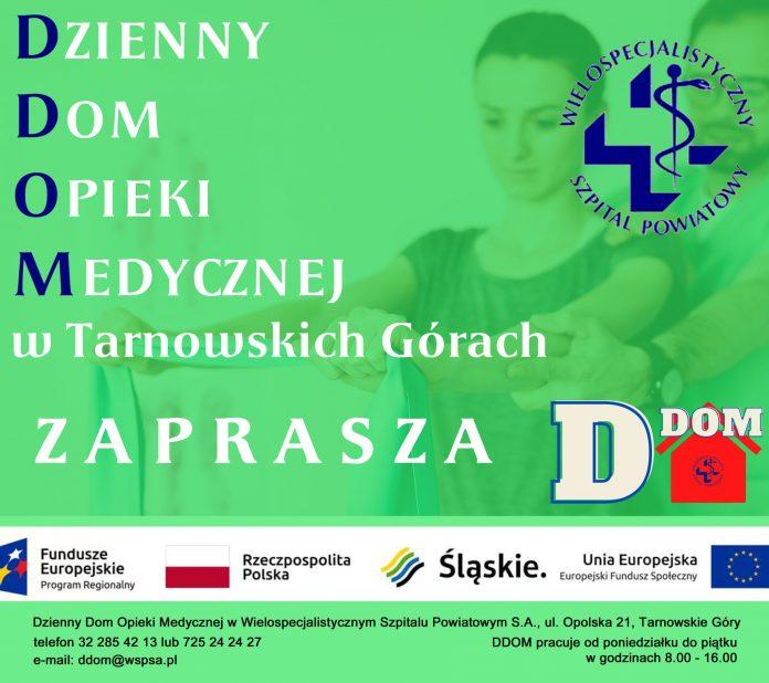 Dzienny Dom Opieki Medycznej w Tarnowskich Górach realizuje projekt dla m.in. mieszkańców pow. lublinieckiego 2