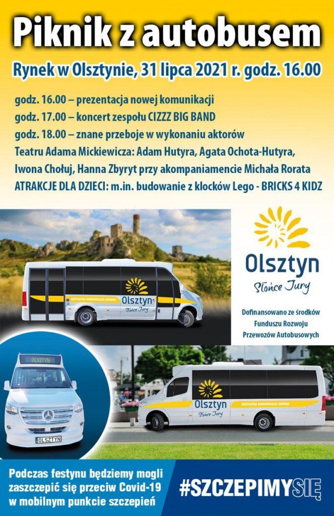 Festyn autobusowy plakat