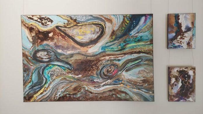 """""""Abstractio – status ontyczny"""". Malarstwo Anity Grobelak w częstochowskiej Galerii Zwiastun 4"""
