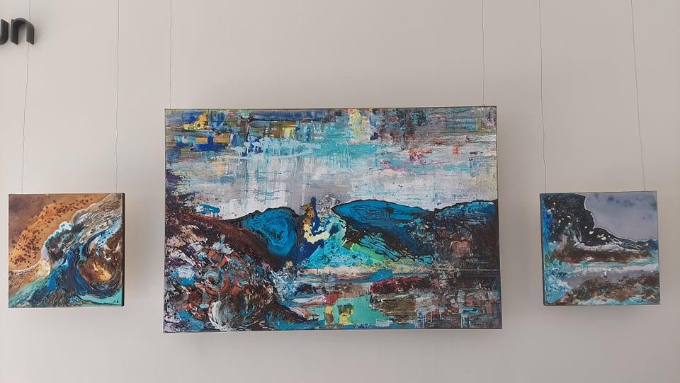 """""""Abstractio – status ontyczny"""". Malarstwo Anity Grobelak w częstochowskiej Galerii Zwiastun 2"""