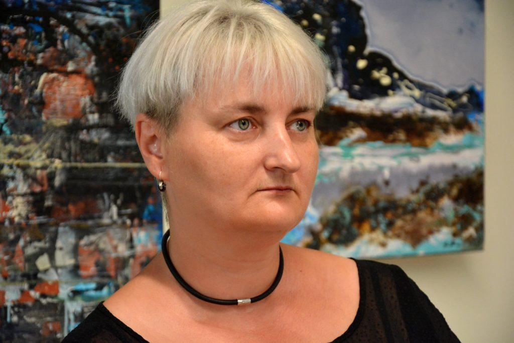 Wernisaż wystawy malarstwa Anity Grobelak w Miejskiej Galerii Sztuki w Częstochowie [ZDJĘCIA] 1