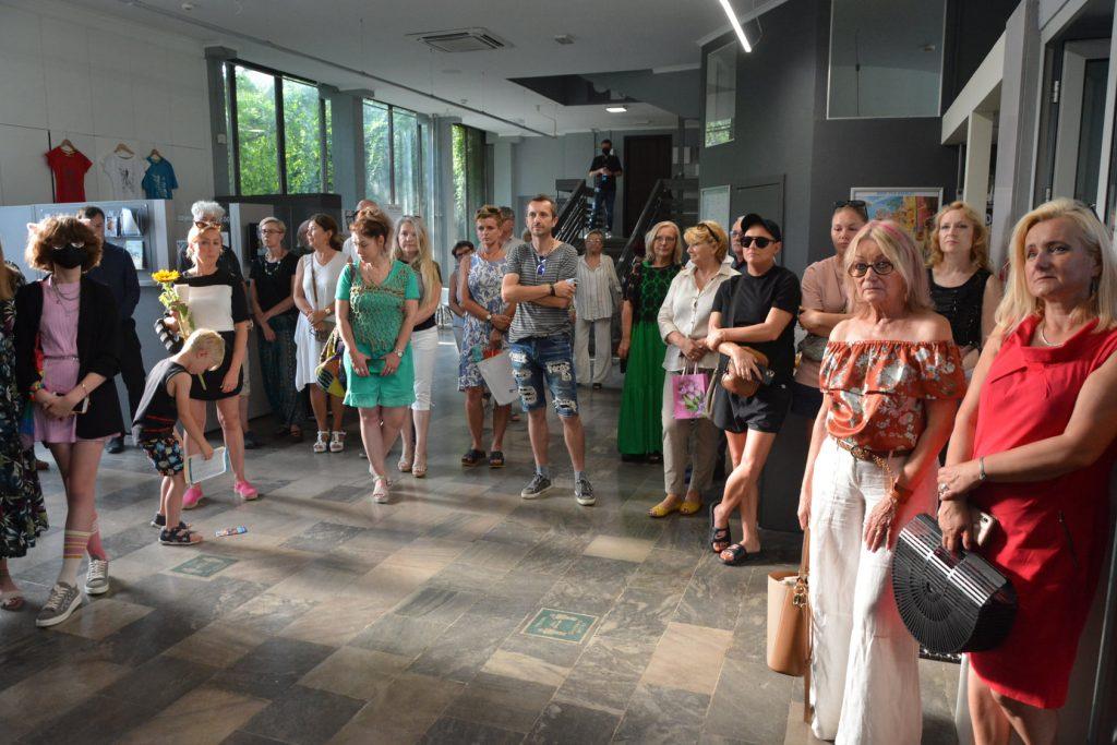 Wernisaż wystawy malarstwa Anity Grobelak w Miejskiej Galerii Sztuki w Częstochowie [ZDJĘCIA] 3
