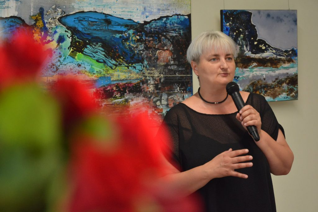 Wernisaż wystawy malarstwa Anity Grobelak w Miejskiej Galerii Sztuki w Częstochowie [ZDJĘCIA] 6