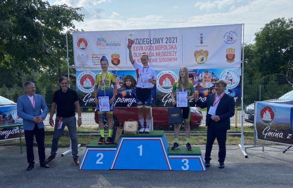 Marta Marek z Kolejarza Częstochowa wicemistrzynią Polski i srebrną medalistką OOM ze startu wspólnego! 2