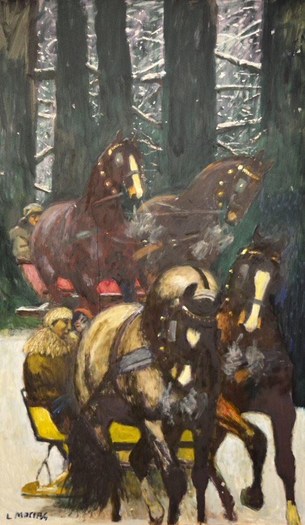 Dzieła wybitnego pejzażysty Ludwika Maciąga zobaczymy już niebawem w częstochowskiej Miejskiej Galerii Sztuki 8