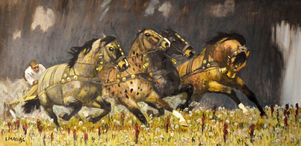 Dzieła wybitnego pejzażysty Ludwika Maciąga zobaczymy już niebawem w częstochowskiej Miejskiej Galerii Sztuki 3
