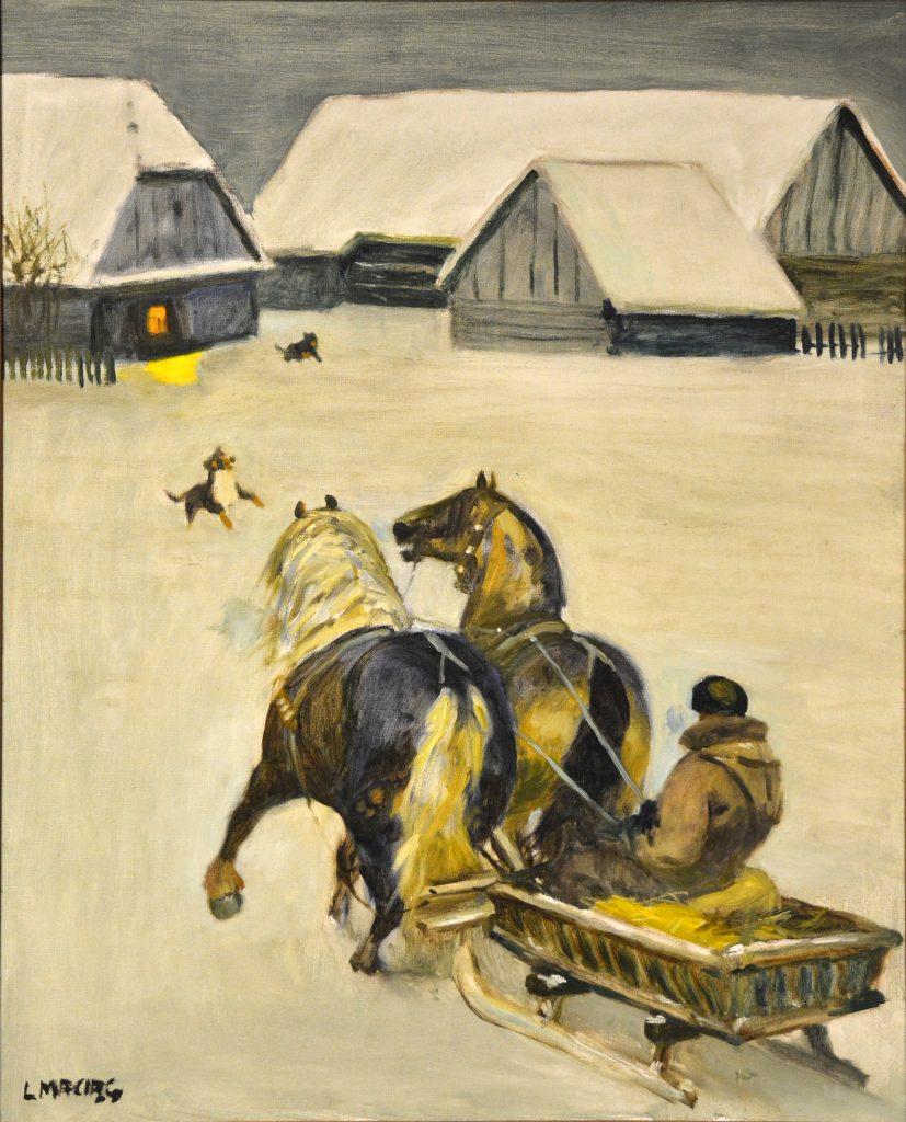 Dzieła wybitnego pejzażysty Ludwika Maciąga zobaczymy już niebawem w częstochowskiej Miejskiej Galerii Sztuki 5
