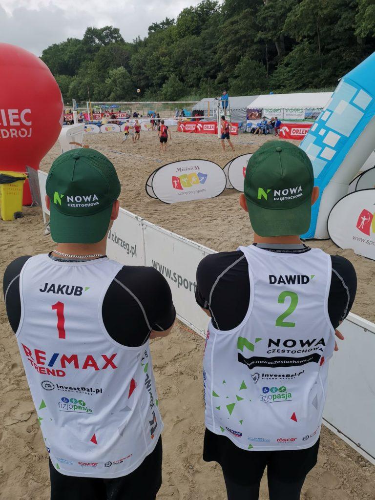 Kacper Miodek i Wojciech Deko wygrali Puchar Bałtyku młodzików w siatkówce plażowej 3