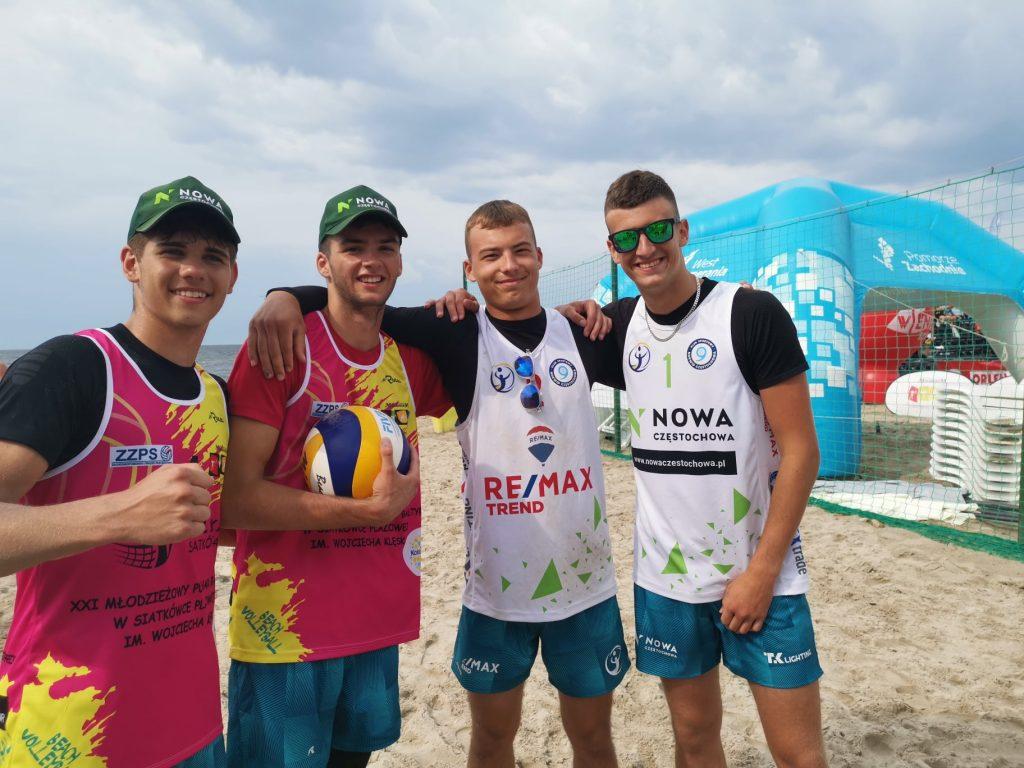 Kacper Miodek i Wojciech Deko wygrali Puchar Bałtyku młodzików w siatkówce plażowej 4