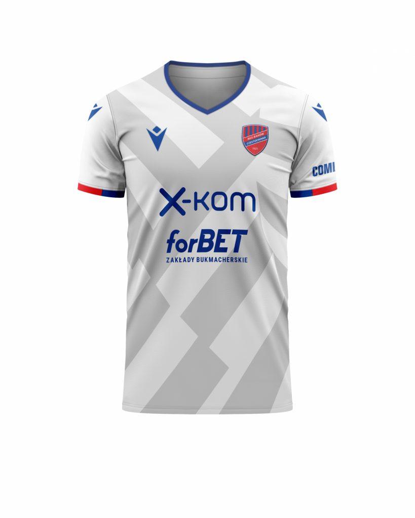 Raków zagra na Litwie w nowych koszulkach... 2