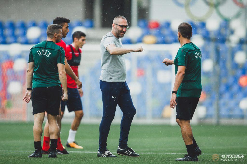 Piłkarze Rakowa trenowali w środę na stadionie Podbeskidzia i zapoznali się z obiektem 3